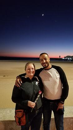 Stephanie and Mohamed