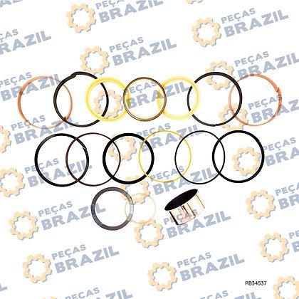 88A1061 / Kit Reparo Cilindro Da Lança LiuGong CLG915 / PB34537 / Peças Brazil / LG105X70