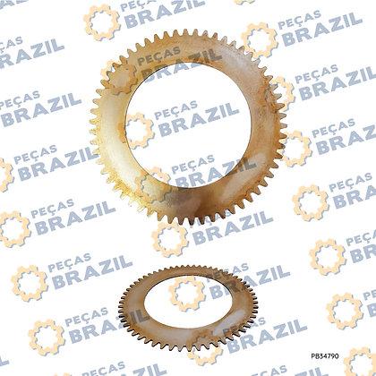 52A0105 / Placa de Aço da Transmissão LiuGong CLG835 / PB34790 / Peças Brazil