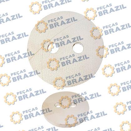 53H0009 / Tampa Sup. da Articulação LiuGong CLG816 com 2 Furos / PB31156 / Peças Brazil