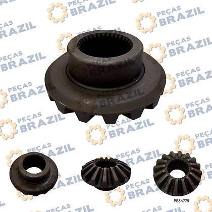 29070020161 / Engrenagem Lateral da Cx Satélite SDLG LG936/933/938 PB34775 / Peças Brazil