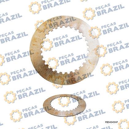 7200001650 / Disco de Aço 1.5MM SDLG / PB34345 / Peças Brazil / ZF.4642308330 / SP100401
