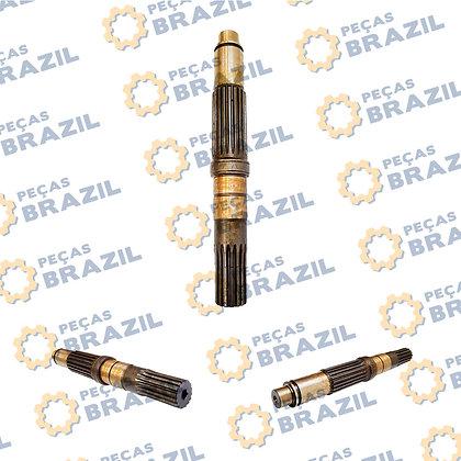 63A0242 / Eixo Principal Motor de Tração LiuGong CLG915 / PB35011 / Peças Brazil