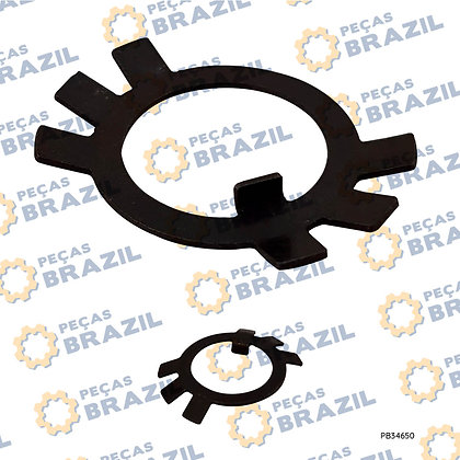 T858-1988 / Anel Trava / PB34650 / Peças Brazil / B061302004
