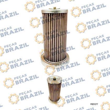 52C0102 / Filtro da Transmissão LiuGong / PB31277 / Peças Brazil / YQX100 / CPCD70