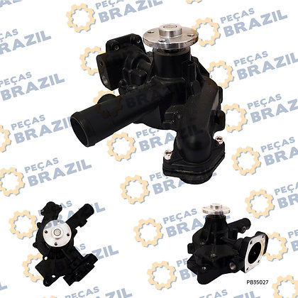 129917-42010 / Bomba D'agua Yanmar 4TNE92 / PB35027 / Peças Brazil