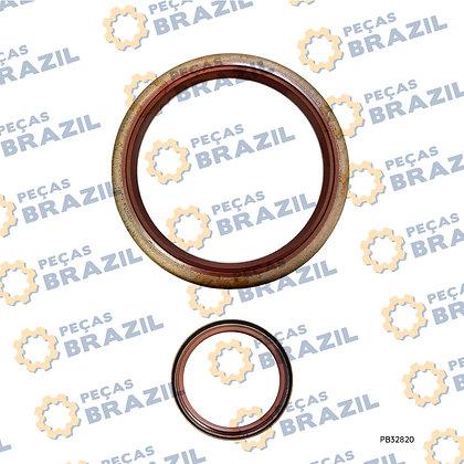 4110000217052 /Retentor Viton / 100X120X13 / PB32820 / Peças Brazil / SP103292 / W110016140 / ZL30D-11-4 /4110000217052/SP10