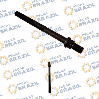 4110000054232 / Parafuso do Cabeçote SDLG / PB34656 / Peças Brazil / 13037379 / 13023589 / 5371380 / W010251990