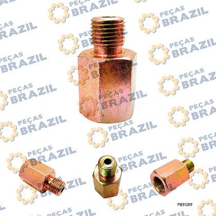 ZL50C.2.2-3 / Conector Pinça De Freio LiuGong CLG835 / PB31289 / Peças Brazil / 00A0041