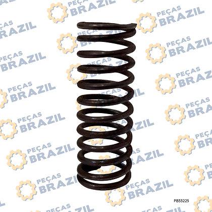75A0015 / Mola Da Válvula De Controle LiuGong CLG835 / PB33225 / Peças Brazil / 75A0015 / 27B0014 / 4120000064028 / ZL30.05.1