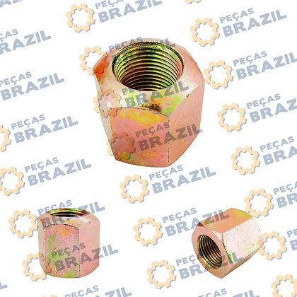28809028560371 / Porca da Roda L.E PB34305 /  Peças Brazil / SP110891 / ZL15F.2-17B / M18X1,5 / ESO-MEG-0006 / 35BH043
