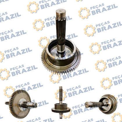 ZL30E.5.4.1 / PB31922 / EIXO CARRIER DO PACOTE 2 MARCHA / CDM835 / Peças Brazil