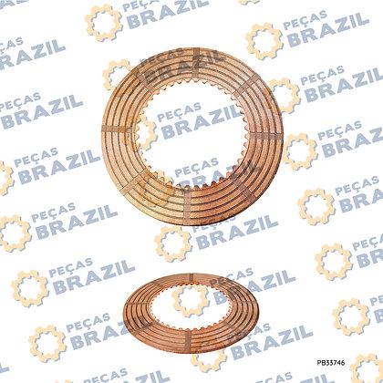 Z30.4.1-5 / Disco Sinterizado 937H / PB33746 / Peças Brazil