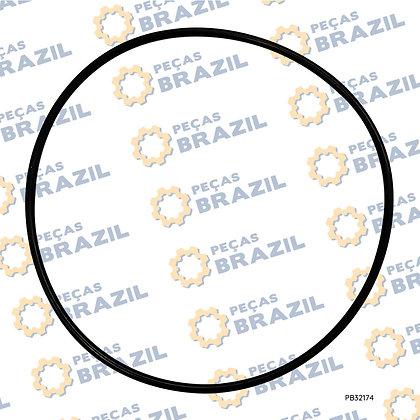 12B0375 / Anel O-Ring / PB32174 / Peças Brazil / T3452.1-1992 / S2254 / 140X3,55