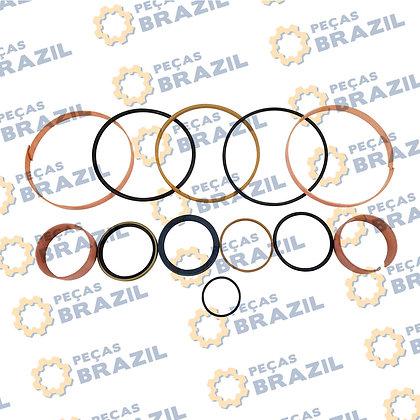 SP127536 / Kit Reparo Cilindro de Inclinação LiuGong CLG856 / PB34533 |/ Peças Brazil / 10C1287