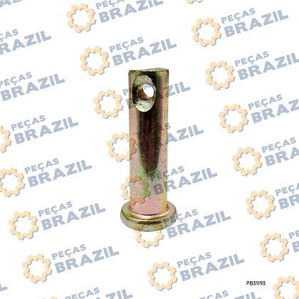 4016000143 / Pino Maior de Fixação do cabo de Reversão SDLG LG936 / PB31193 / Peças Brazil