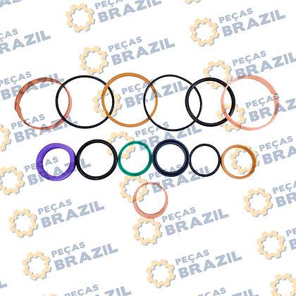 SP114127 / Kit Reparo Cilindro de Direção LiuGong CLG835II / PB34145 / Peças Brazil / 10C0360