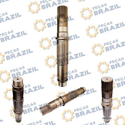 62A0084 / Eixo Principal Motor de Tração LiuGong CLG922 / PB33555 / Peças Brazil / XKAH-00081 / 671B2002-00