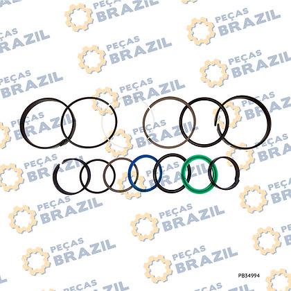 4120001153101 / Kit Reparo Cilindro De Elevação SDLG LG918 / PB34994 / Peças Brazil