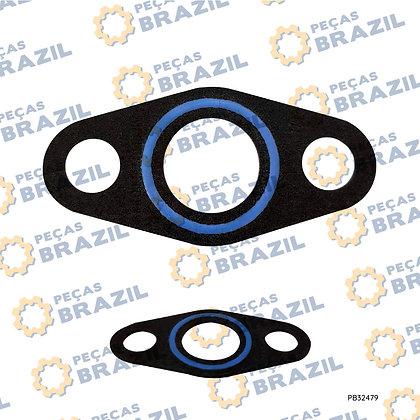 6RQ.12.710008 / Junta Do Tubo Do Compressor YTO / PB32479 / Peças Brazil / SP113816 / W018101781