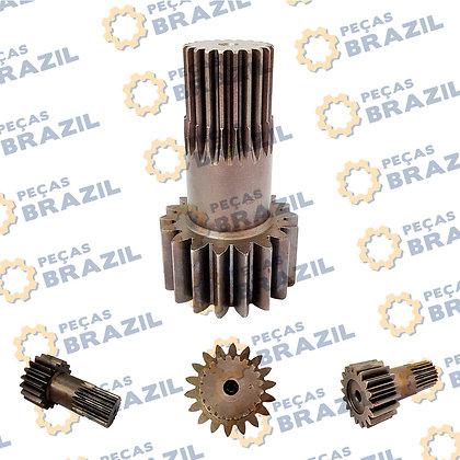 XKAH-00017 / PB34397N / Eixo Pinhao Motor de Tracao XGMA / XKAH-00017