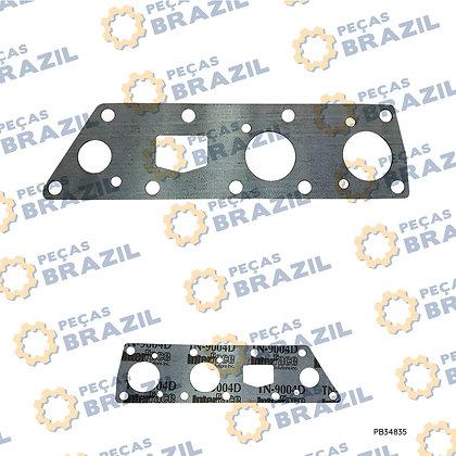 7200001727 / Junta da Válvula Seletora SDLG  / PB34835 / Peças Brazil / ZF.4644306584 / 231128A1 / 7200001727 / SP100455
