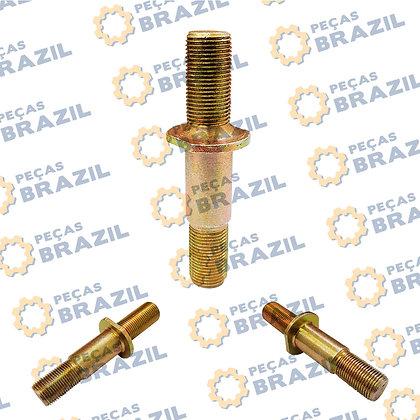 3050900044 - Prisioneiro da Roda SDLG LG936 / M18 X 1.5 X 100 / PB34325 / Peças Brazil