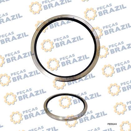 35C0047 / Retentor LiuGong CLG835/842/856/862 / 127X147X8,00 / PB31644 / Peças Brazil / ZL50F.3.2