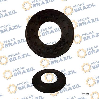 29070010181 / Arruela Menor de Ajuste Cx Satélite SDLG / PB32112 / Peças Brazil / ZL15F.2.5-12 / ZL15F-2403058 / W040101070