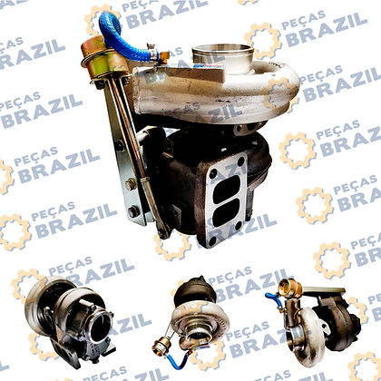 SP105112 / 4045184 / HX35W / W090500227 / 4045877 / TURBINA DO MOTOR CUMMINS / PB32191