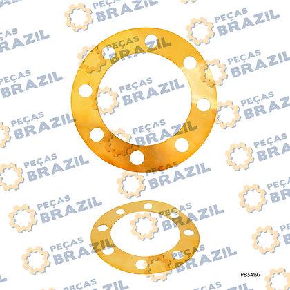 57A0053 / Calço De Ajuste LiuGong CLG835 / PB34197 / Peças Brazil / ZL40B.8-20