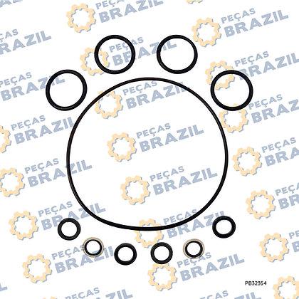 80A0357 / Kit Reparo Joystick LiuGong CLG922 / PB32354 / Peças Brazil /
