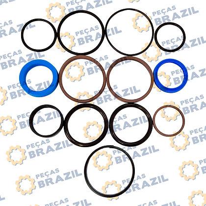 SP104031 / Kit Reparo Cilindro Direção LiuGong CLG816 / PB31254 / Peças Brazil / SP00015 / 10K0006