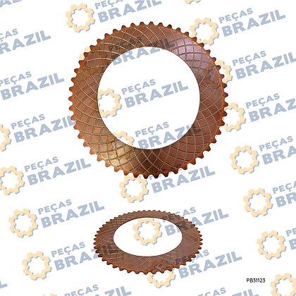 4110000038181 / Disco Sinterizado / PB31123 / Peças Brazil / ZL20-032104 / Z320470680 / 860114636