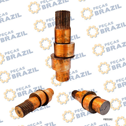 XKAH-00013 / Eixo Excêntrico Motor de Tração LiuGong CLG922 / PB33282 / Peças Brazil / 62A0523 / 671B1009-01