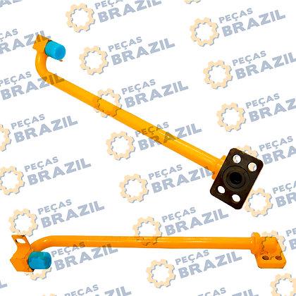 10L0039 / Tubo Dianteiro Cilindro de Elevação L.E LiuGong CLG816 / PB33278 / Peça Brazil