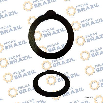SP100459 / Arruela de Encosto / PB31172 / Peças Brazil / E135267 / 4110000367118 / 7200001542 / ZF.4644308265