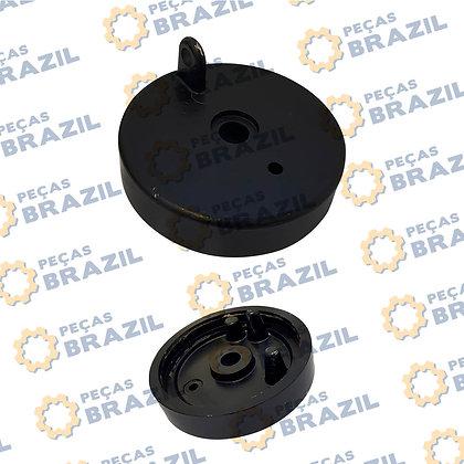 53A0120 / Tampa Tanque de Combustível LiuGong CLG835 / PB30120 / Peças Brazil /