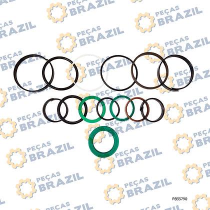 4120001004101 / Reparo Cilindro De Direção SDLG LG936 / PB33790 / Peças Brazil / 41200010040077