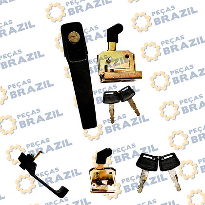 47C0065 / Maçaneta Com Trava Da Porta L.D / PB31720 / 4190000604 / NBS502 / W110022610 / Peças Brazil