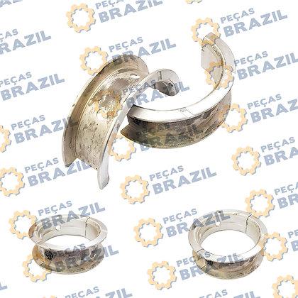 LR020043-44 / Bronzina De Encosto 0.25 YTO 110MM / PB34166 / Peças Brazil