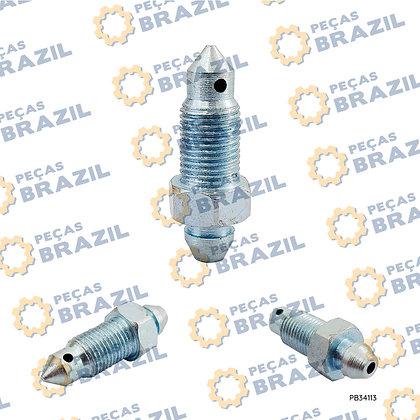 00A0032 / Sangria Da Pinça De Freio / PB34113 / Peças Brazil / 4120001739059