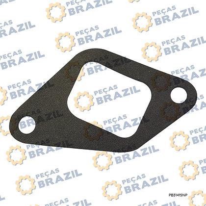 SP100559 / Junta do Coletor de Admissão YTO / PB31415 / Peças Brazil / SP131319 / 4105BG.R220003 / W018101401 / R220003