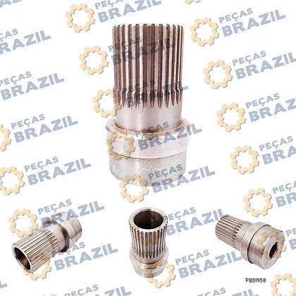 YJ31502D.01 / Acoplamento Bomba Transmissão LonKíng CDM835 / PB33493 / Peças Brazil / EV00013