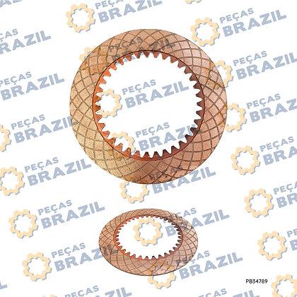 37C0018 / Disco Sinterizado Da Transmissão LiuGong CLG835 / PB34789 / Peças Brazil