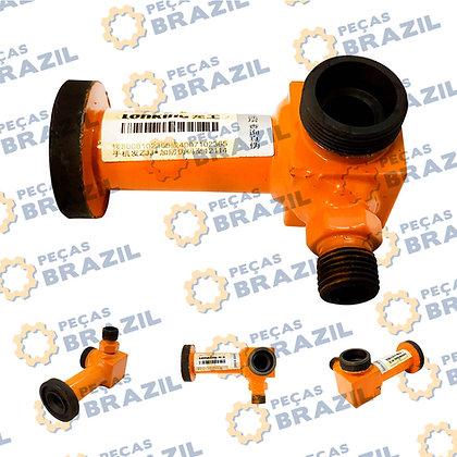 CDM835.06.04 / Tubo de Óleo Bomba Direção LonKíng / PB35010 / Peças Brazil