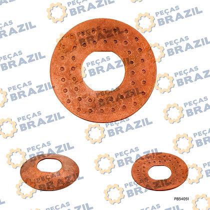 3050900017 / Arruela De Ajuste Eng. Planetária SDLG 25x60x1.7 / PB34051 / Peças Brazil / 06B0298