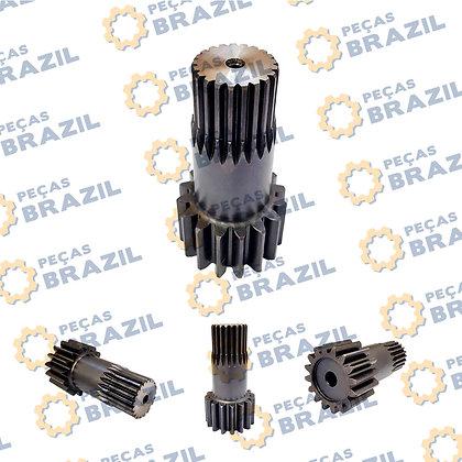 40A0058 / Eixo Pinhão Motor de Tração LiuGong CLG922 / PB34189 / Peças Brazil / 681B1006-00