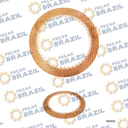 4110000218095 / Disco Sinterizado SDLG / PB31050 / Peças Brazil / SP103302 / W040100600 / W032000240 / ZL30E.5.1-13 / 5362207
