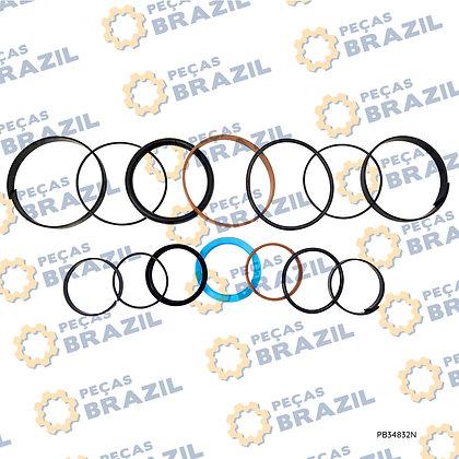 10C0216-R / Kit Reparo Cilindro de Inclinação XGMA / XG918 / PB34832 / Peças Brazil